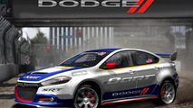 2013 Dodge Dart rally car to be driven by Travis Pastrana