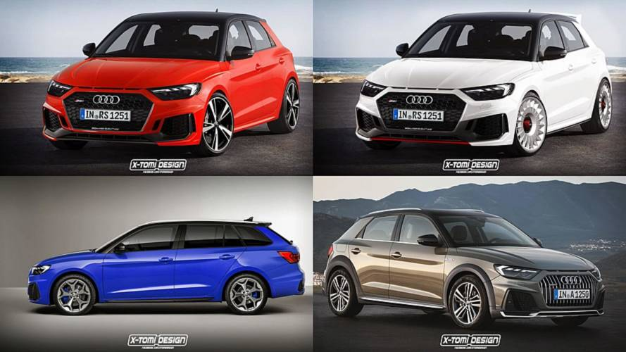 2019 Audi RS1 Sportback Leads Rendering Frenzy
