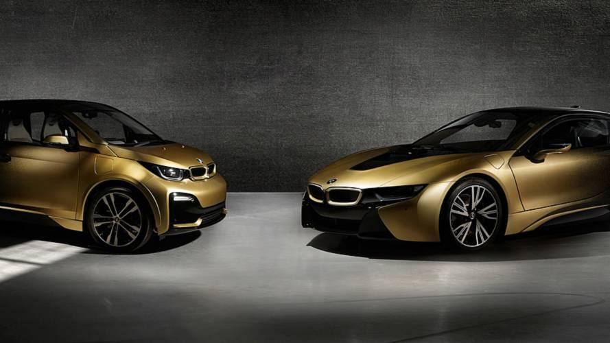 BMW i3 et i8 Starlight Edition