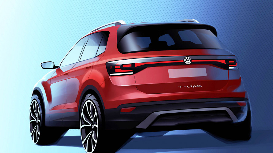 Modern megjelenést kap a Volkswagen T-Cross nevű városi crossovere