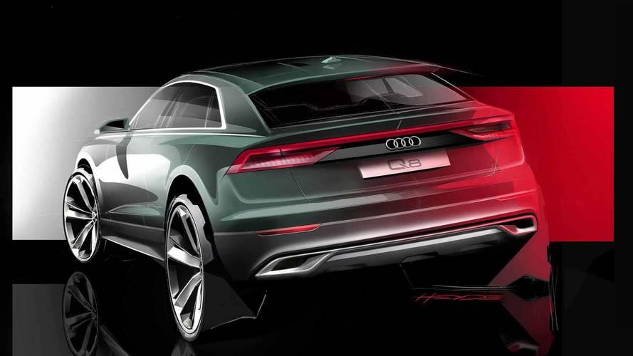 Audi'den yeni Q8 teaser'ı