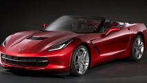 Corvette Stingray Convertible teased for Geneva