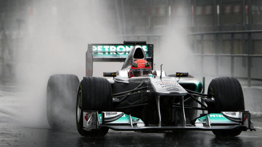 Michael Schumacher to lap Nurburgring in 2011 Mercedes W02 F1 car