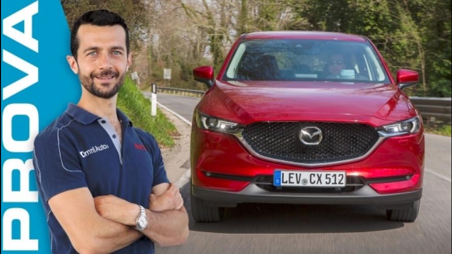 Mazda CX-5, fa molto sul serio [VIDEO]
