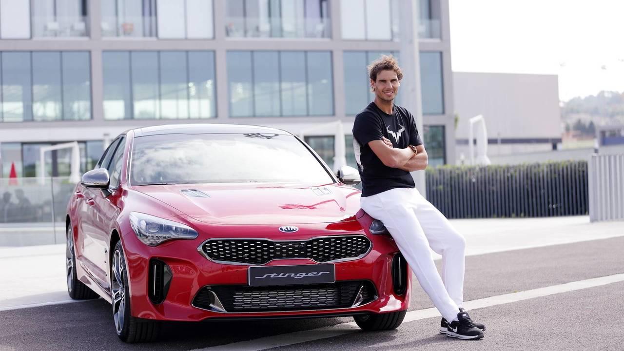 KIA Stinger 2018 y Rafa Nadal