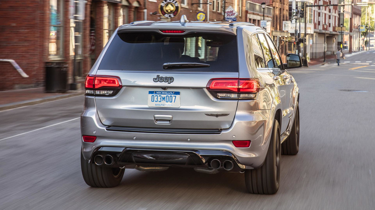 Jeep Grand Cherokee Seating Capacity 7 >> 2018 Jeep Grand Cherokee Trackhawk First Drive: Hellcat All The Things