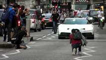 Bugatti Chiron Gets Chased