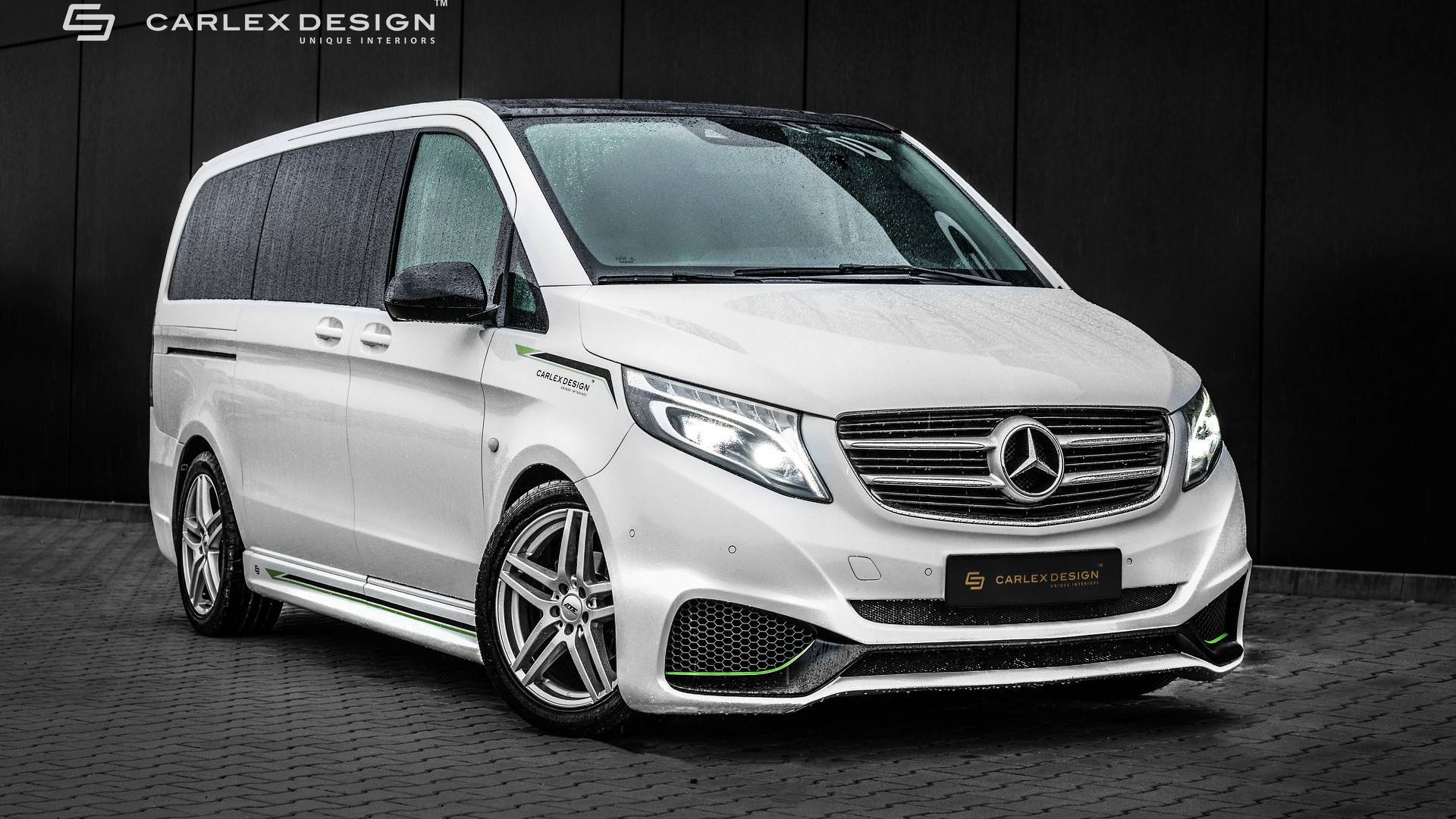 mercedes vito by carlex gets sporty exterior luxurious interior. Black Bedroom Furniture Sets. Home Design Ideas