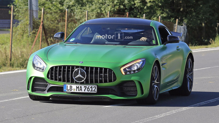 Mercedes-AMG GT4 Road Car Spied With Roll Cage, Other Upgrades