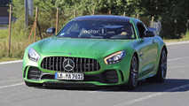 Mercedes-AMG GT4 road car spy photo