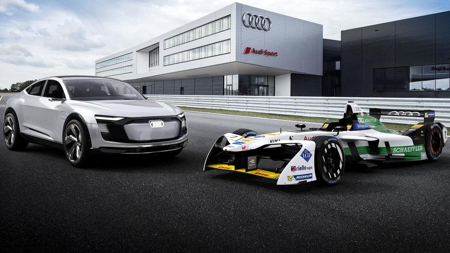 Behold, Audi's Entry Into The All-Electric Formula E Series