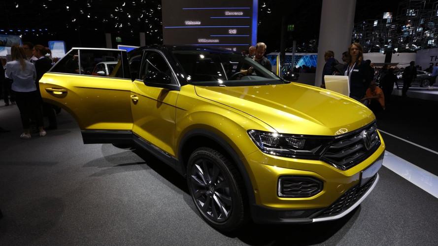 VIDÉO - Le Volkswagen T-Roc en première mondiale à Francfort