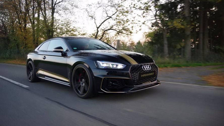 La nouvelle Audi RS 5 poussée à 500 ch par Manhart