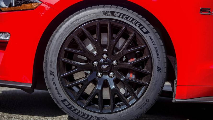 2018 Ford Mustang GT Gets Michelin Pilot Sport 4S Rubber