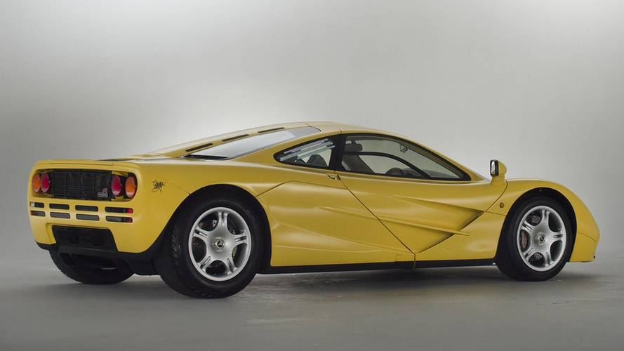 Box-fresh McLaren F1 for sale with delivery miles
