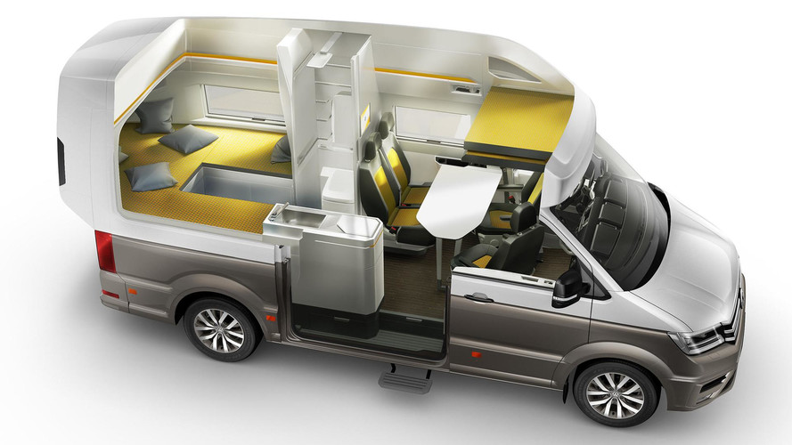 volkswagen supersizes california camper with xxl concept. Black Bedroom Furniture Sets. Home Design Ideas