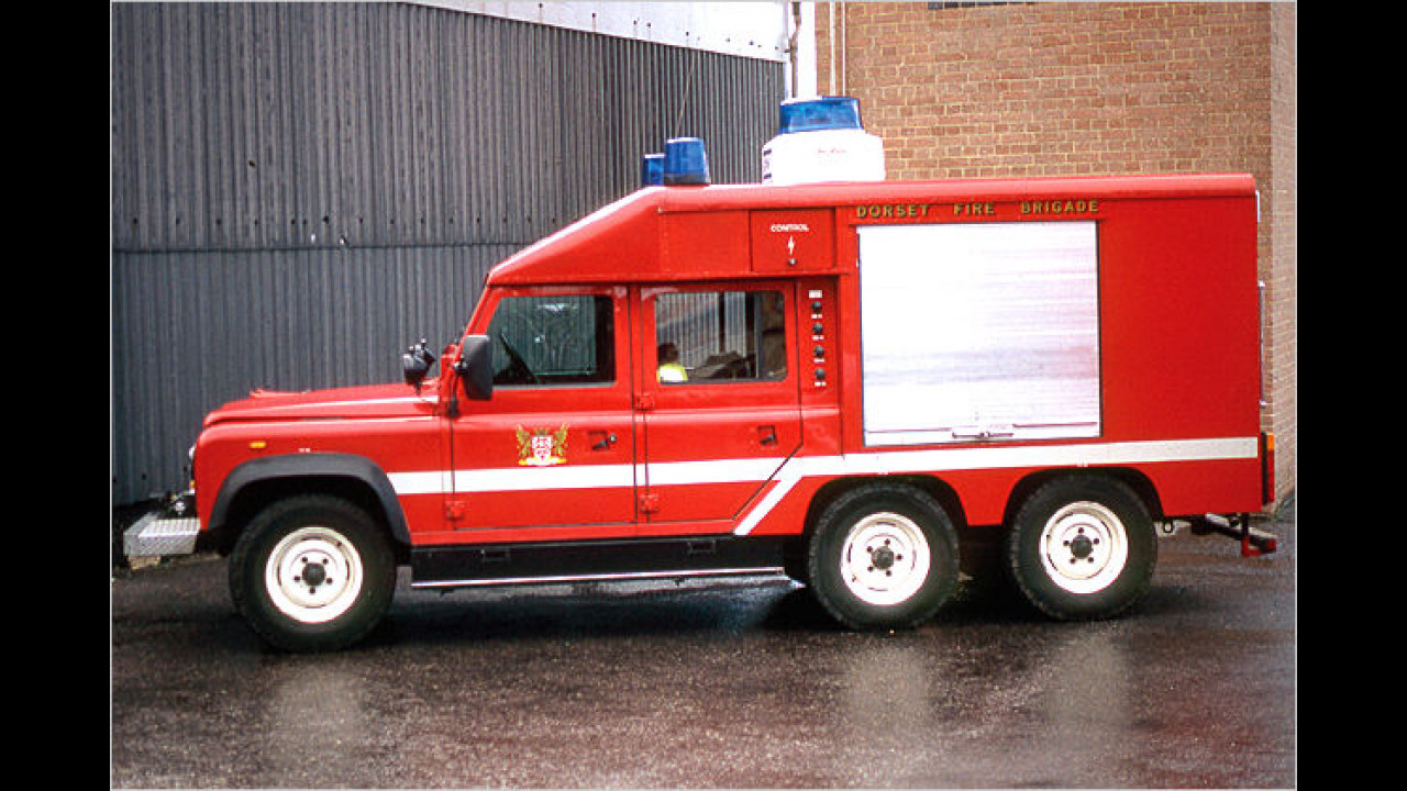 Defender 6x6 Fire Appiliance Conversion