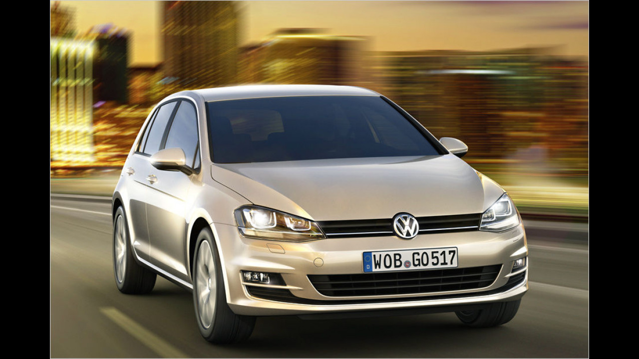 Platz 1: VW Golf, 19.244 Neuzulassungen