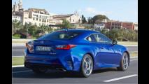 Lexus RC: Turbo und Hybrid
