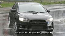 Mitsubishi EVO X Real World Spy Photos