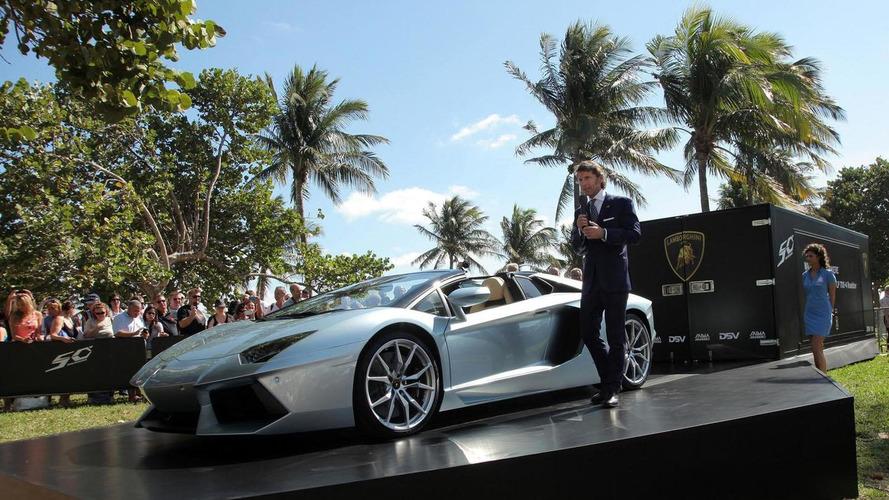 Lamborghini Aventador Roadsters take over Miami International Airport [Video]
