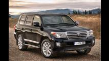 Toyota putzt Land Cruiser V8