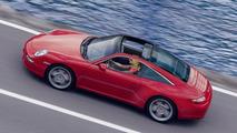 New Porsche 911 Targa computer illustration