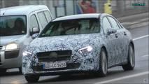 Yeni Mercedes GLS ve A Serisi Sedan trafikte yakalandı