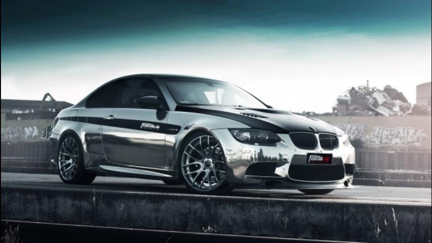BMW M3 coupé in black-chrome by Fostla.de