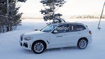 2019 BMW X3 plug-in hybrid spy photo
