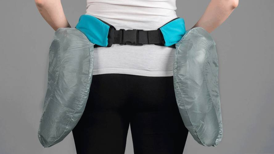 Wear These Airbags Around Your Hips, Because People Crash Too