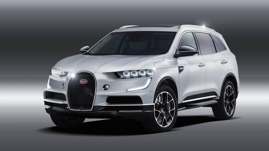 Bugatti SUV Rendering Previews The Inevitable