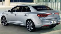 Renault Fluence rendering