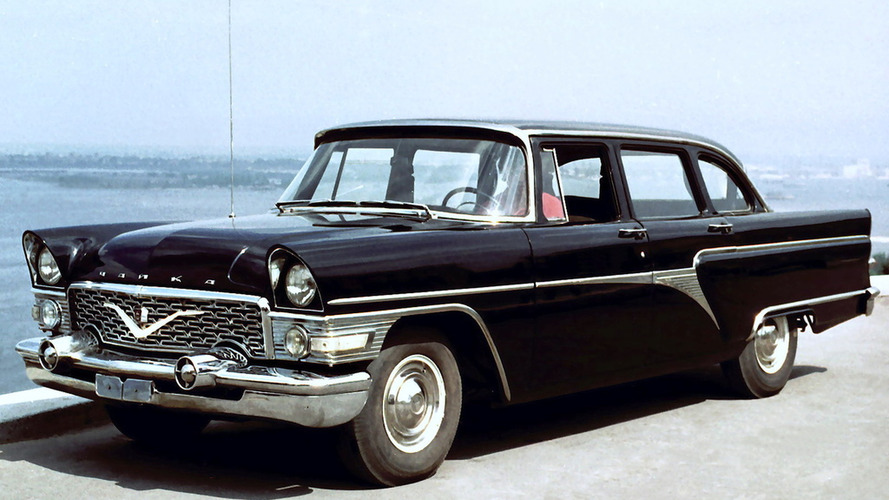 Soviet Cars Were Weird: GAZ Chaika 13
