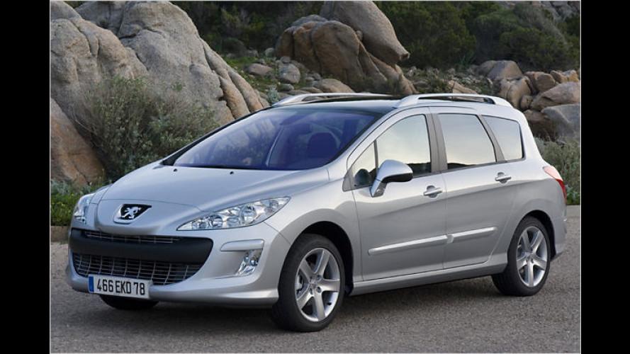Peugeot 308 SW: Willkommen auf dem Panoramadeck