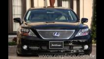 Tuning: Preparadora japonesa Job Design mostra Lexus LS tunado