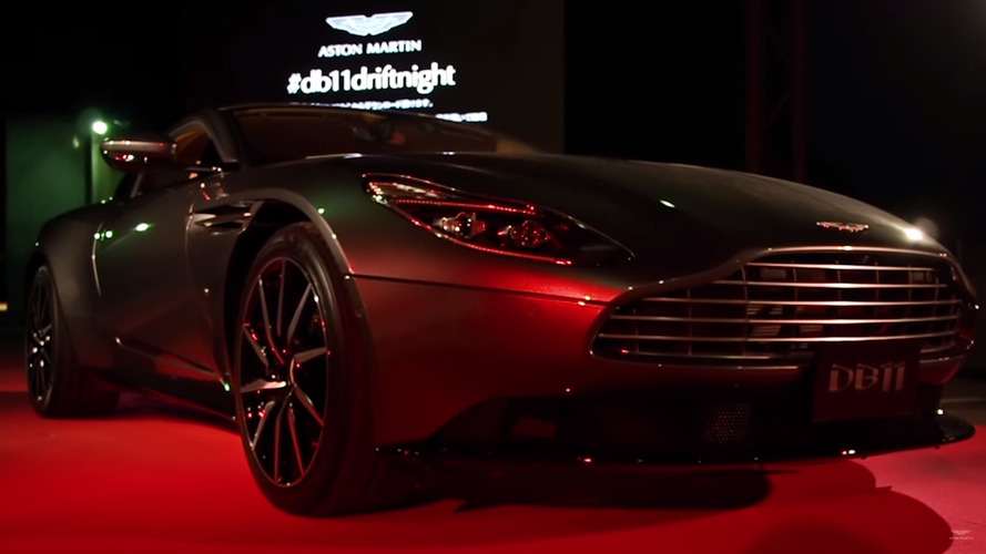Aston Martin DB11 Osaka Lansmanı