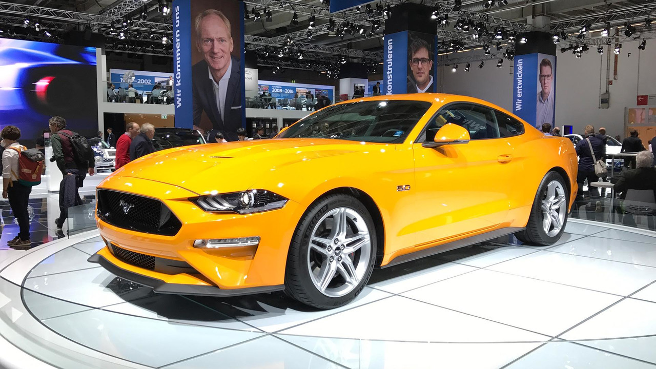 2018 Ford Mustang Puts On Euro Suit For Frankfurt Debut
