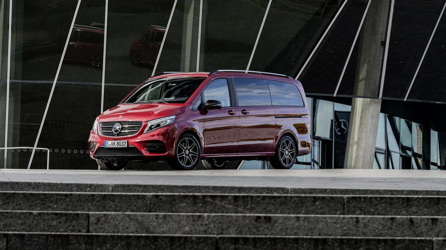 Mercedes V-Class Limited And Rise Editions Spice Up The Posh MPV
