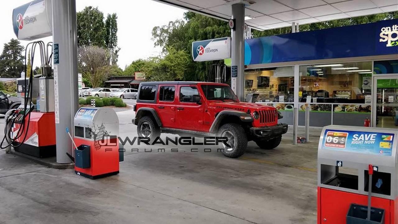 2018 Jeep Wrangler Unlimited Rubicon gerçek fotoğraflar