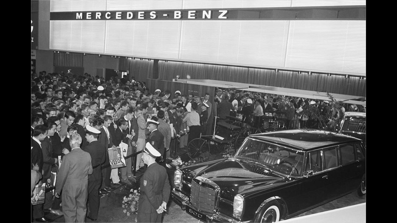 1963: Mercedes 600