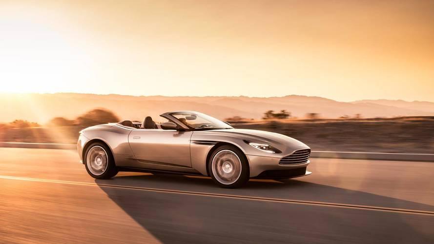 20 ezer dolláros felárral érkezett meg az Aston Martin DB11 Volante