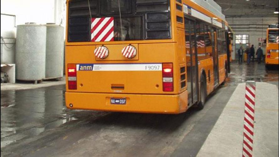 Napoli si ferma, i bus sono rimasti senza gasolio