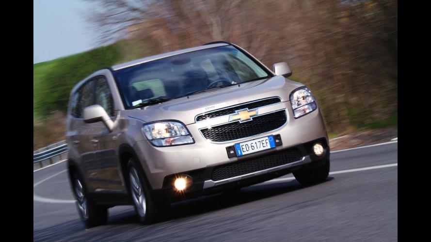 Chevrolet Orlando 2.0D 163CV LTZ