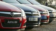 Opel Range of Models in China