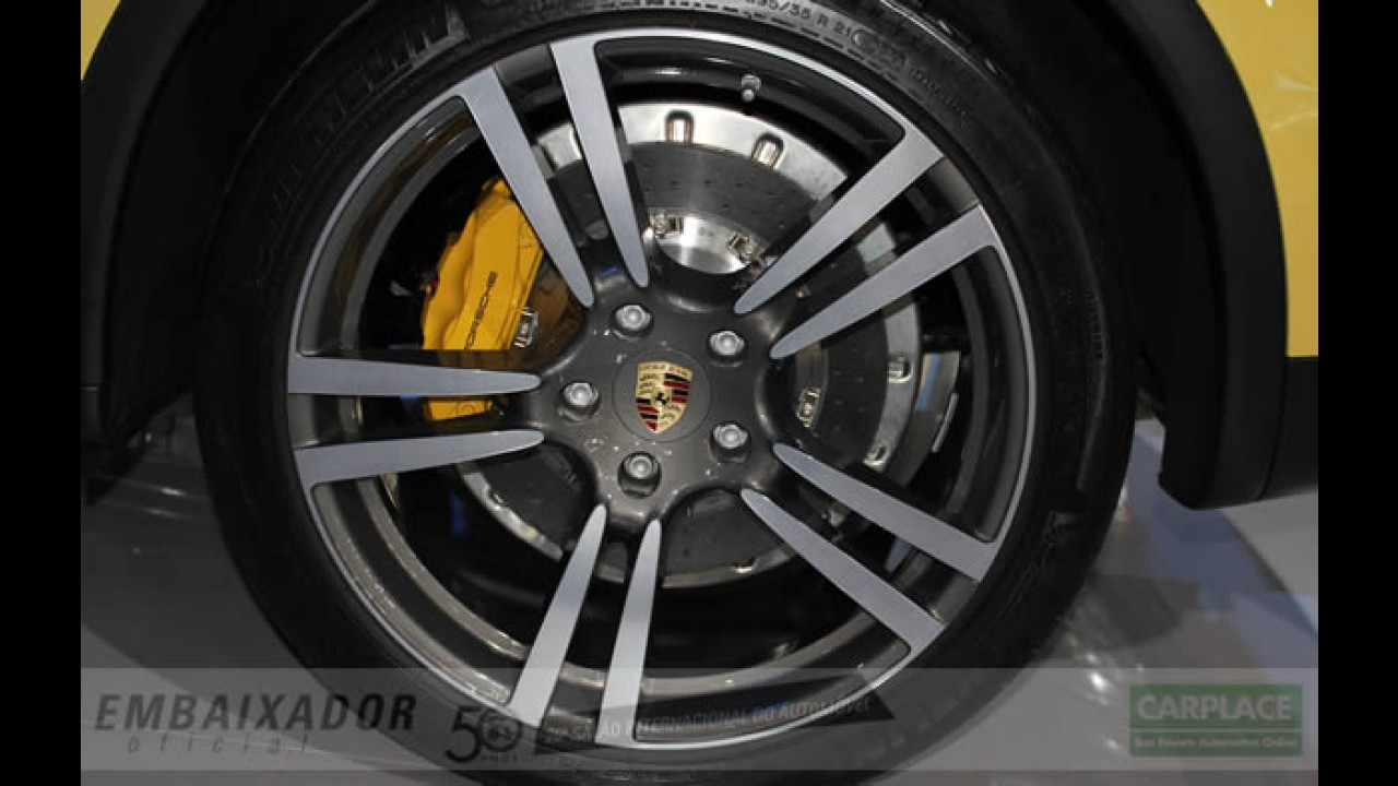 Salão do Automóvel: Porsche exibe Cayenne Turbo com motor V8 de 500cv