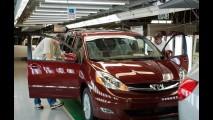 Produção da Toyota é retomada no Japão