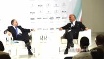 Automobile Club d-Italia President Angelo Sticchi Damiani and FIA president Jean Todt