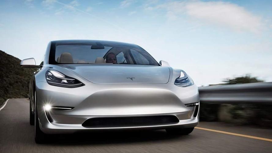 New Tesla Model 3 images
