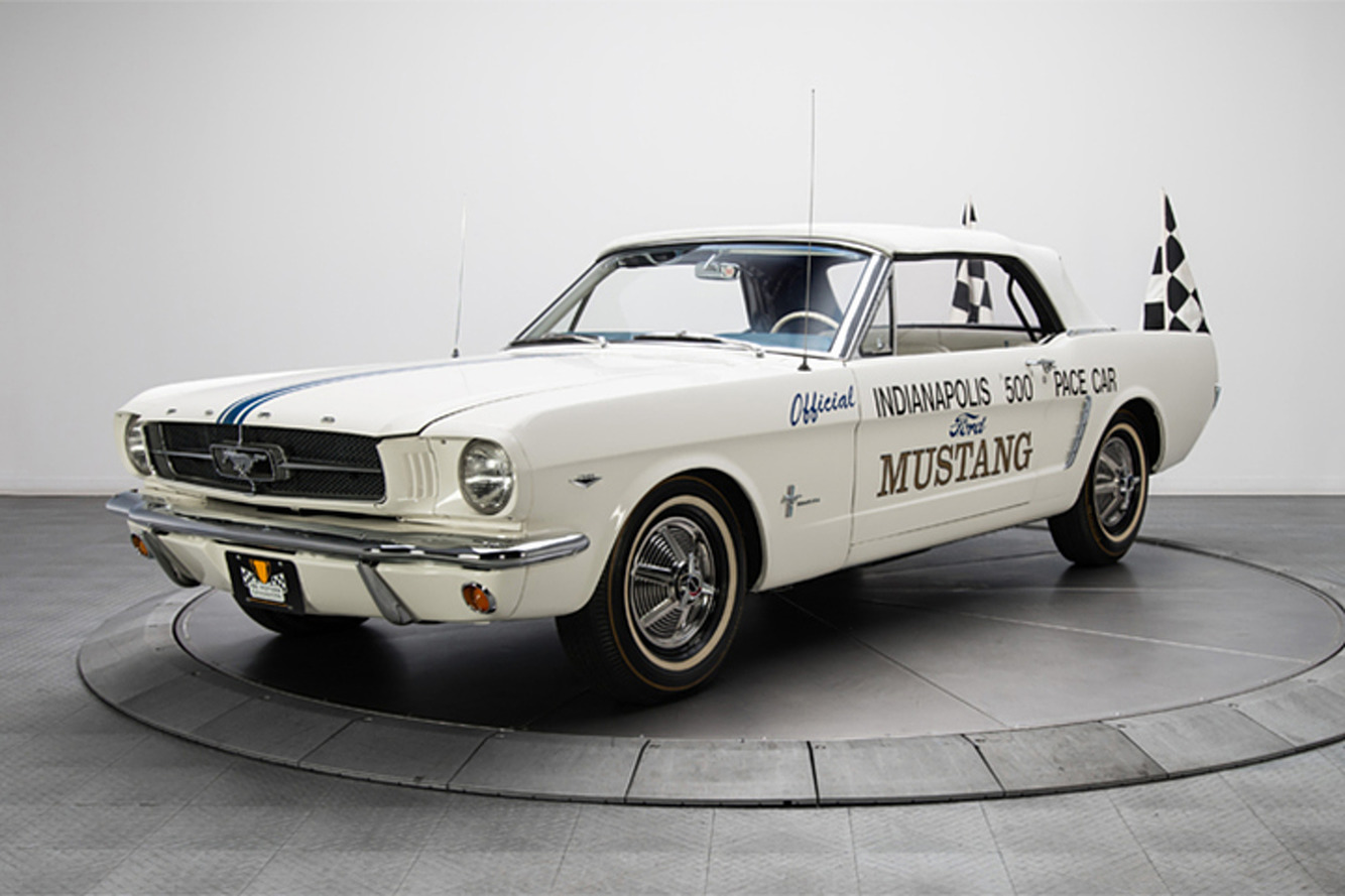 Is This 1964 Ford Mustang Pace Car Worth the Price?